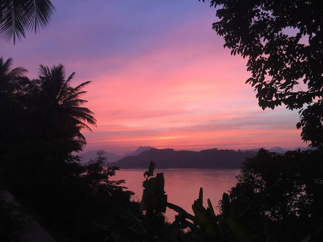 Luang Prabang Home with Best Sunset View