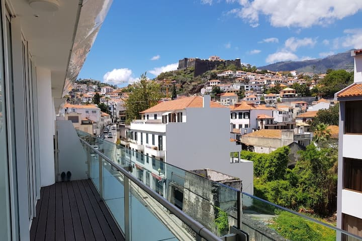 La Vie en Rose@Heart of Funchal-View&Free Parking