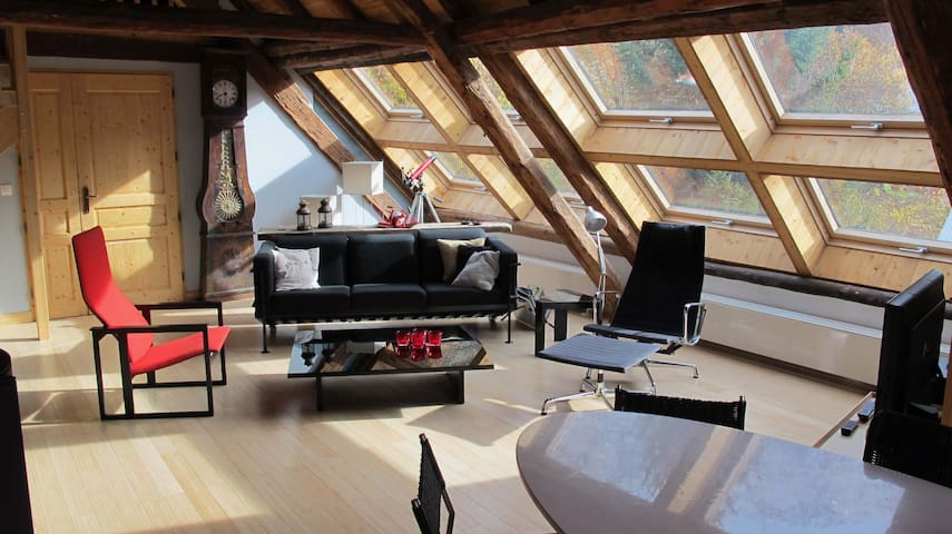 Loft: 120 m2 of luminous and luxurious space
