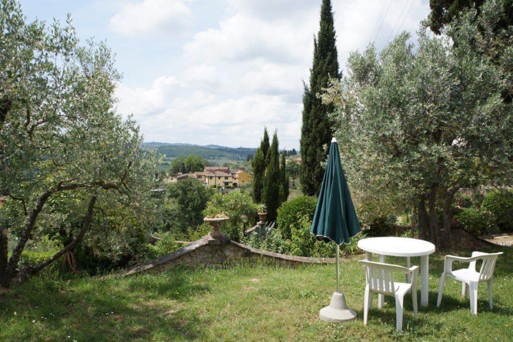 giardino privato Ginestra