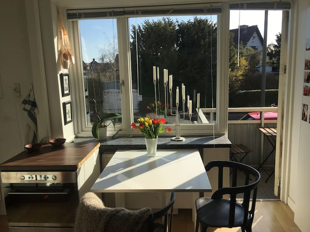 Great studio apartment close to beach and metro - København - Flat