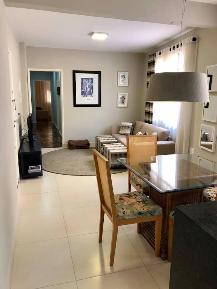 Apartamento aconchegante no calçadão Londrina.