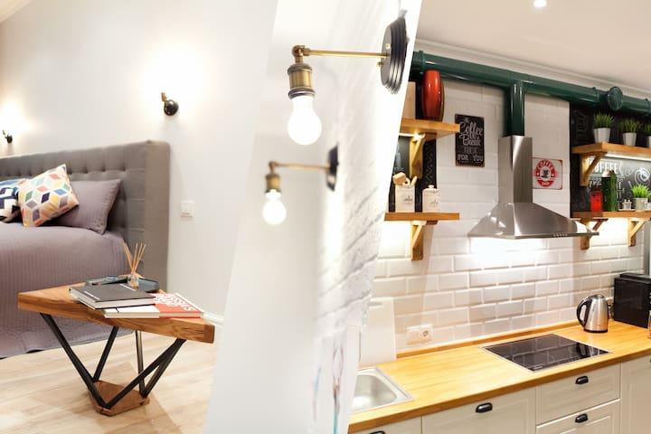 Loft style apartment in center of Podolsk