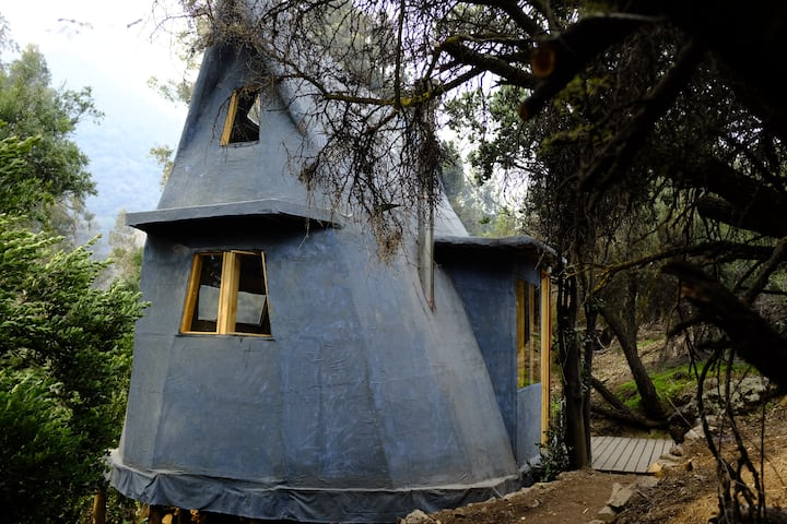 El Arca Azul, Cabane Écologique