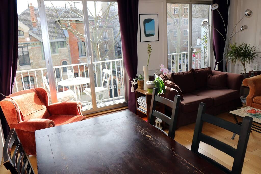 Salon - salle à manger / living room