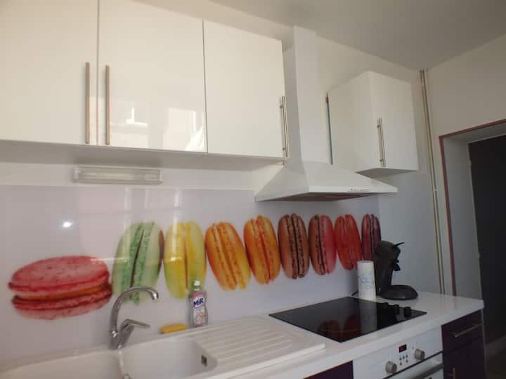 Appartement macaron
