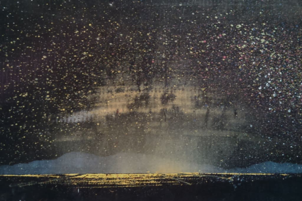 Artist's rendition of night view