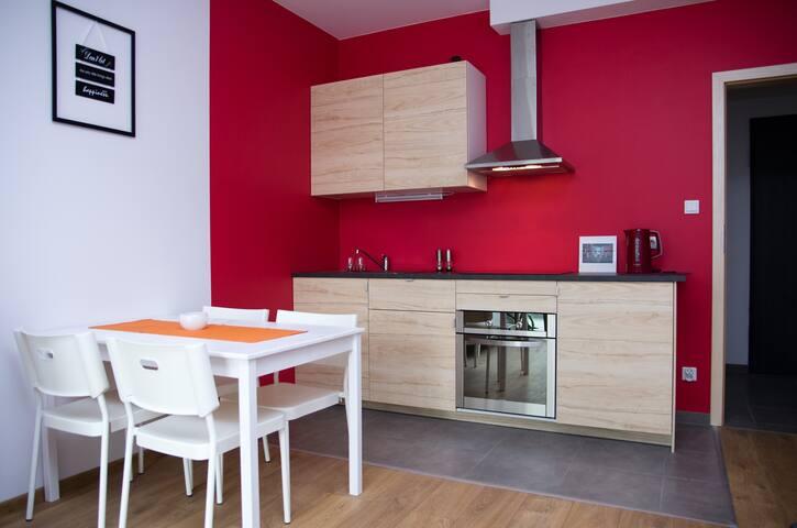 Grzegórzki - wygodne mieszkanie w centrum Krakowa