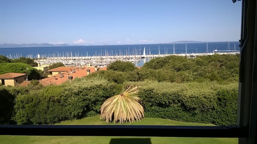studio with sea view in Tuscany int.44 - Punta Ala - Apartment