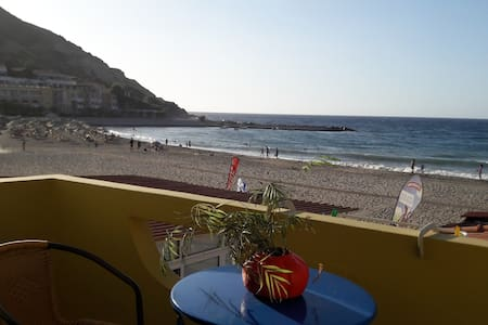 two bedroom  apartment in front of Fodele beach
