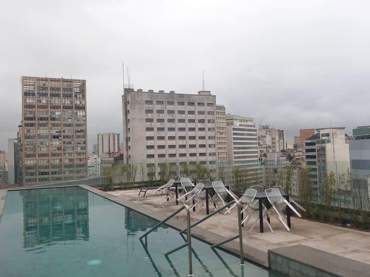 Apartamento para 5 pessoas no Centro de São Paulo