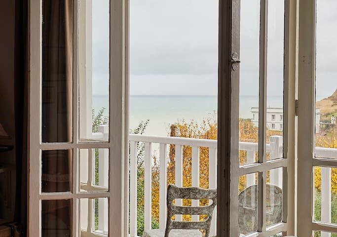 Villa les Cormorans, 10 personnes, Vue mer