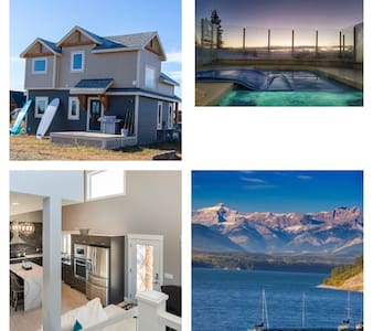 Mountain Beach Retreat Cottage w/ pool Banff