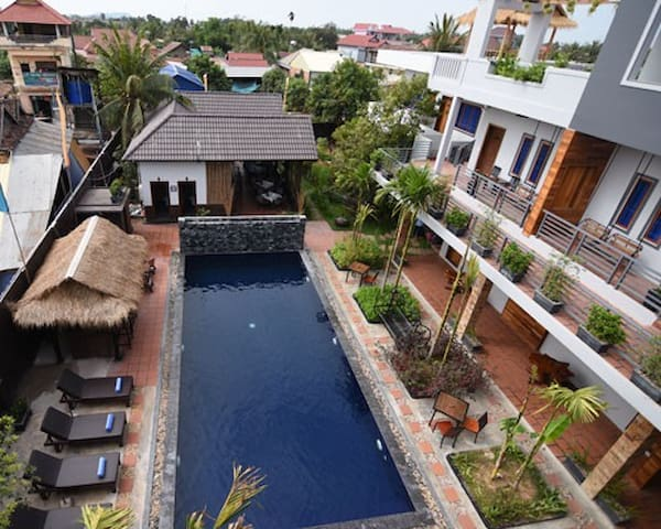 Cozy double room in Siem Reap - Krong Siem Reap - Apartment