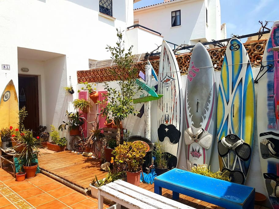 Come learn Kite in our Wayuu Surf House!