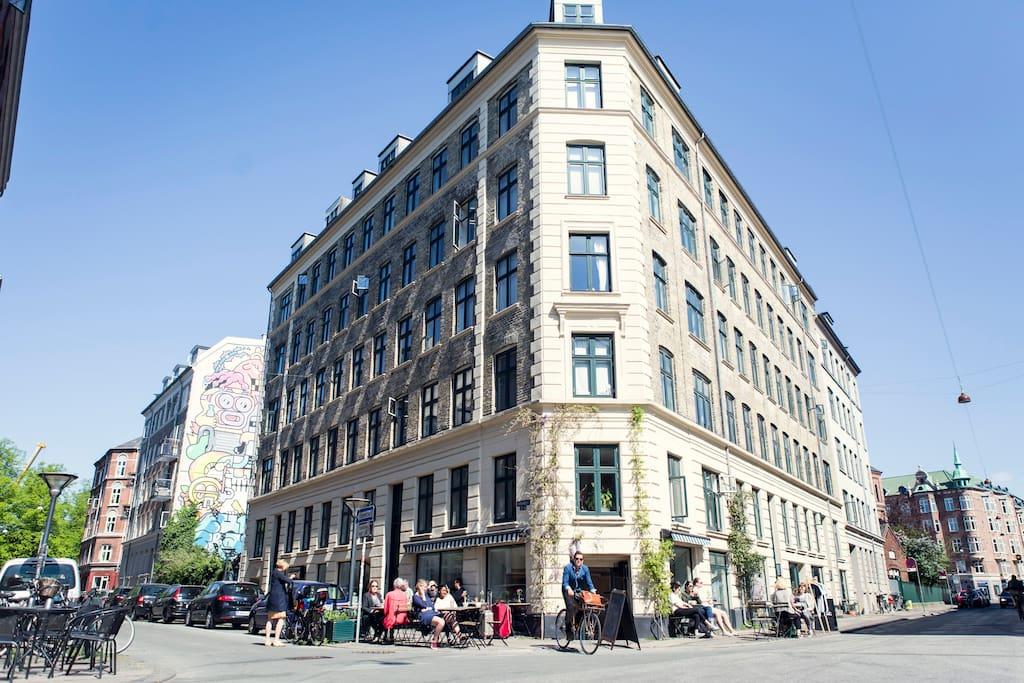 Co living 44 1 wohnungen zur miete in kopenhagen d nemark for Kopenhagen unterkunft
