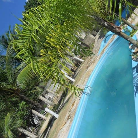 Tropical nature, tranquility and fun in the city - Macaíba - Houten huisje