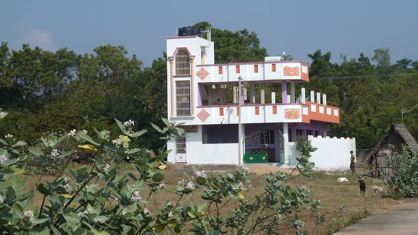 Friendly clean Indian home in spiritual Auroville! - Auroville, Kuilapalayam - House
