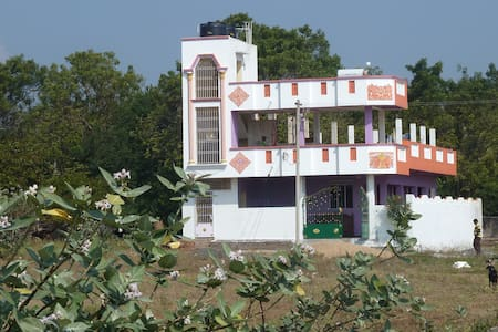 Friendly clean Indian home in spiritual Auroville! - Auroville, Kuilapalayam