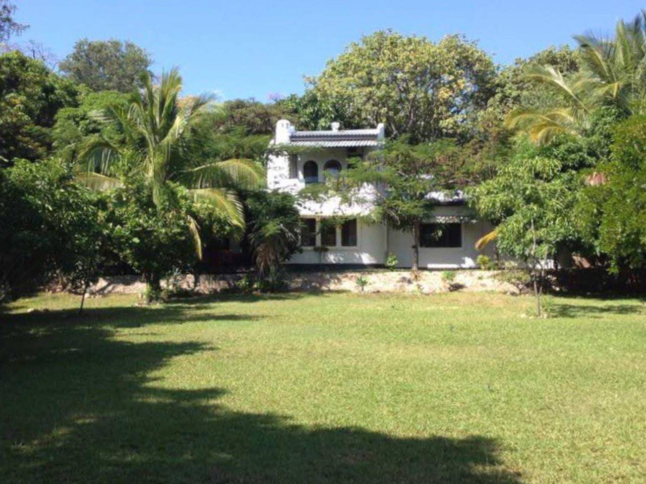 Garden view of cottage