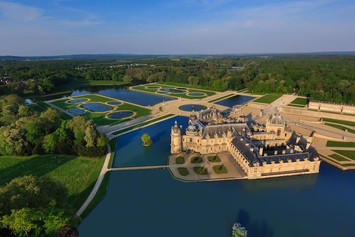 L'Hébergerie • Gîte de charme à 5 km de Chantilly