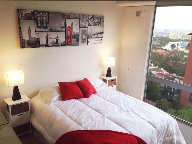 Gorgeous suite in Santa Fe area - Ciudad de México - Apartment