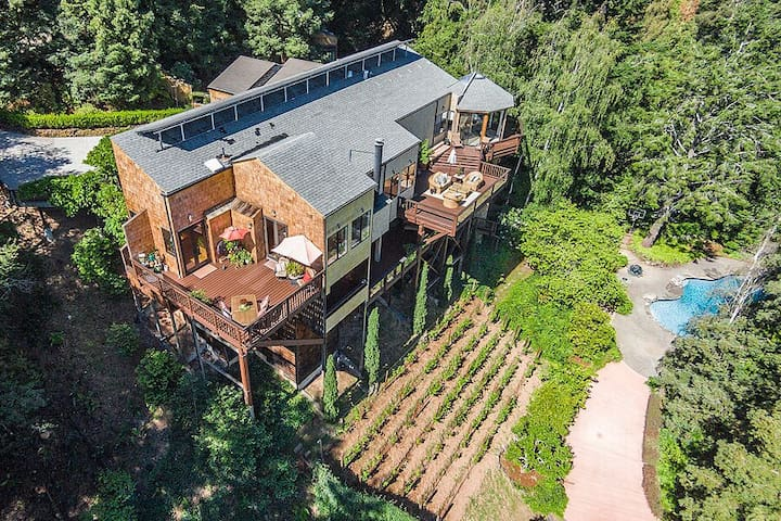 Spacious Kenfield Home with a view.
