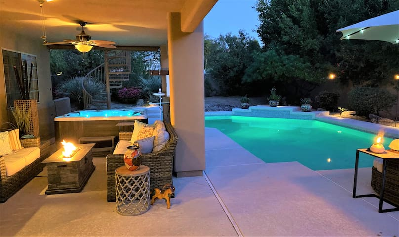 Rancho Oeste- Heated pool hot tub & outdoor living