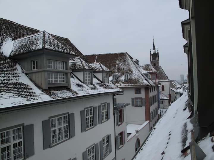 Stay in historical building in Basel!