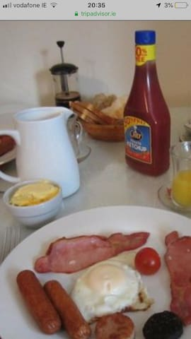 Home cooked breakfast included in your rate
