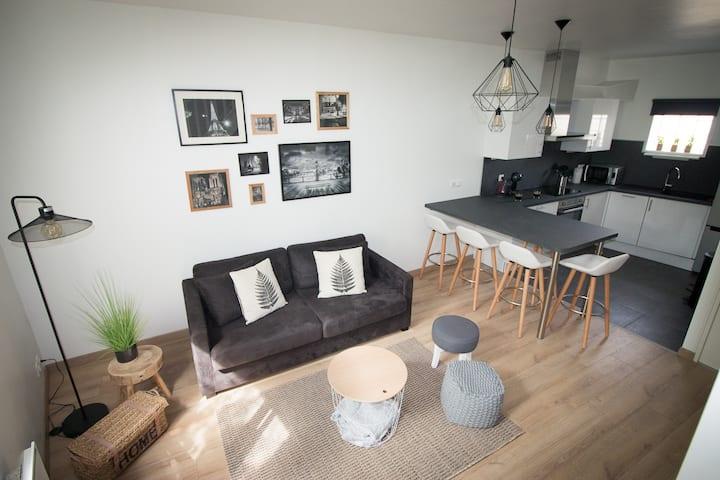 appartement F2 en duplex au coeur de Pontoise