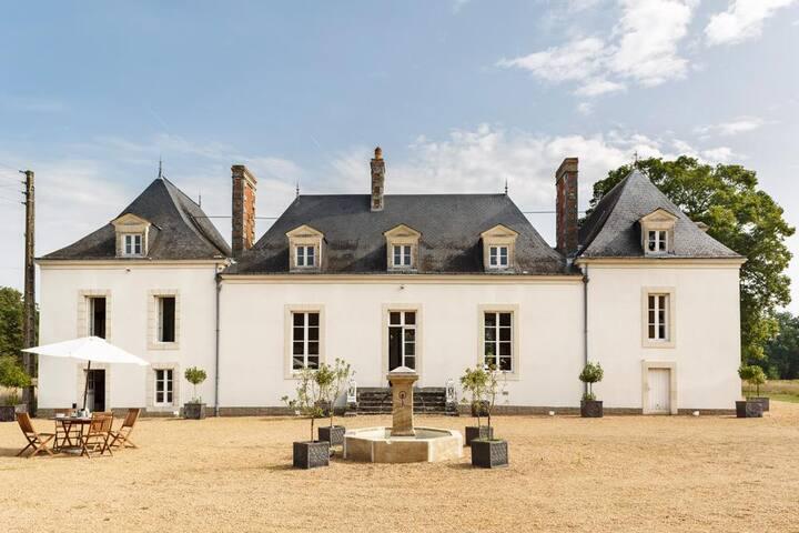 Chateau De La Houlberdiere at Pays de la Loire