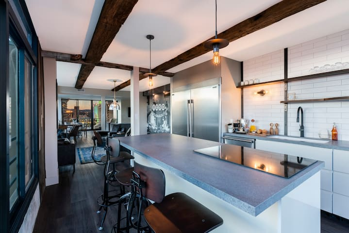 Luxury Penthouse on Truckee River in Downtown Reno