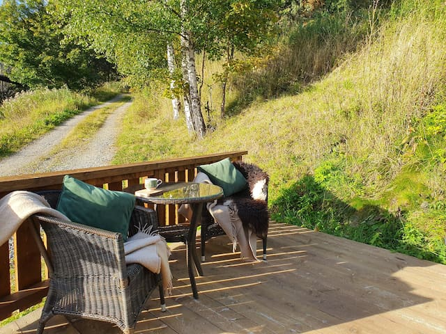 Cozy loftstudio on a farm in Lillehammer