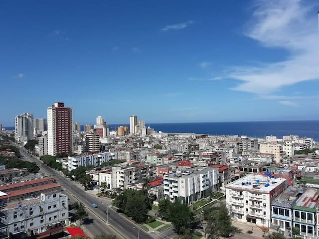 Havana, Vedado (next to Malecon)