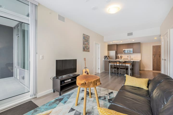 Brand New 2 Bedroom Condo Close to Everything+AC