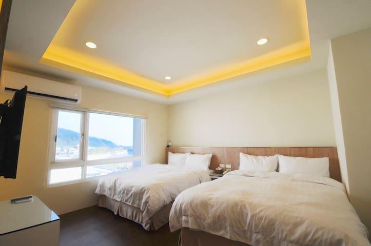 Luti Sea Shore Hotel 綠堤濱海旅店 精緻四人房 - Lvdao Township - Boutique-Hotel