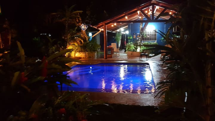 The Blue House, Las Lajas, Chame.