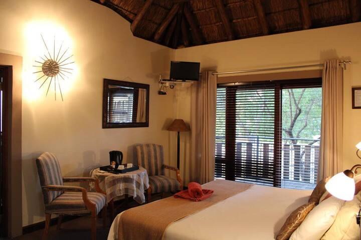 Room no. 2 inside Waterberg INN house