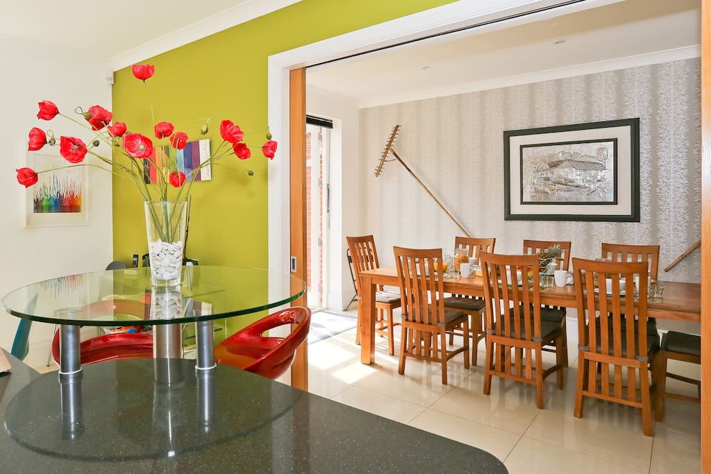Dining room where breakfast is served (no self catering)