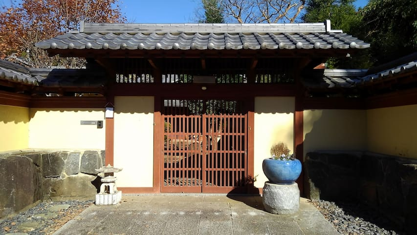 PRIVATE JAPANESE GARDEN HOME - Close to Narita