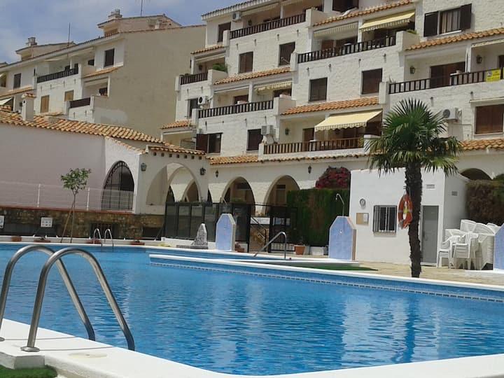 Apartamento de 2 habitaciones a 250 m de la playa
