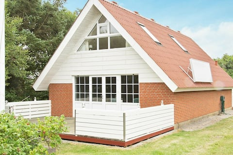 Lavish Holiday Home in Ringkøbing with Terrace