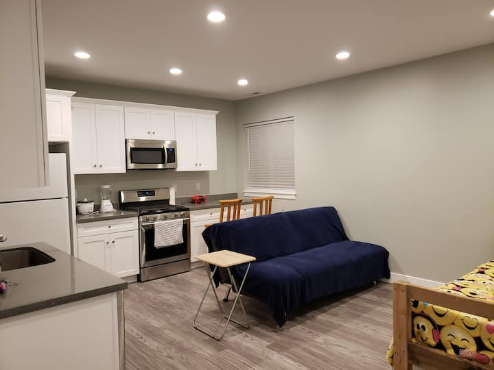 Beautiful private  brand new basement