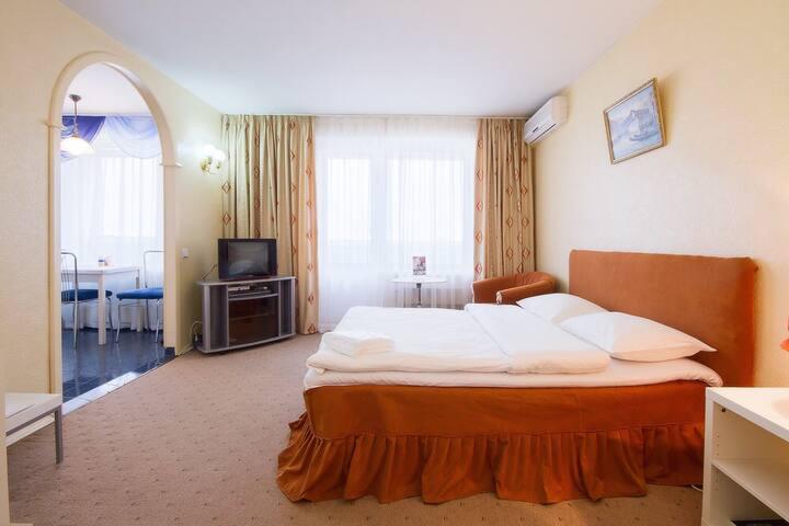 Квартира 1-я на сутки м. Полянка - Москва - Pis