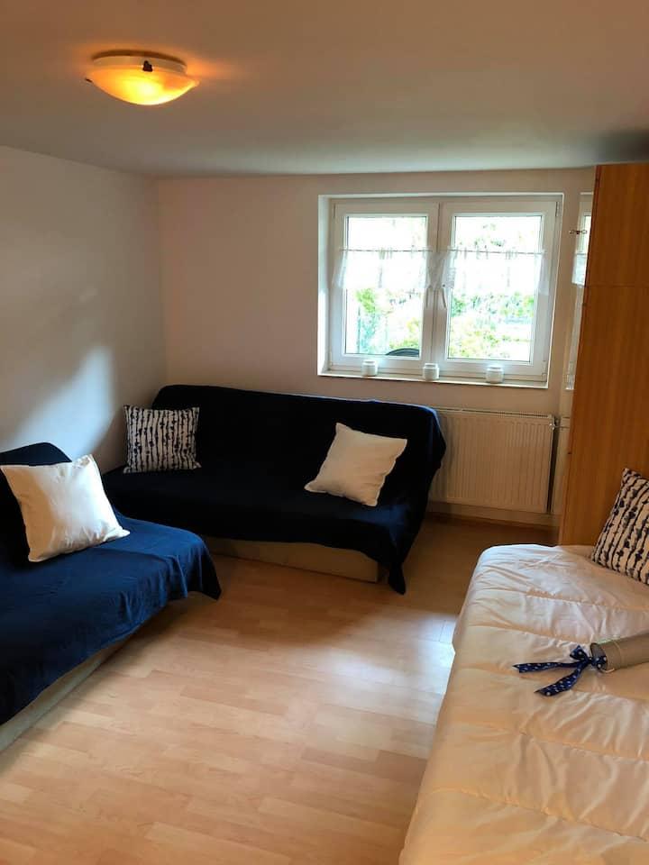 USTKA - apartament z aneksem kuchennym i łazienką