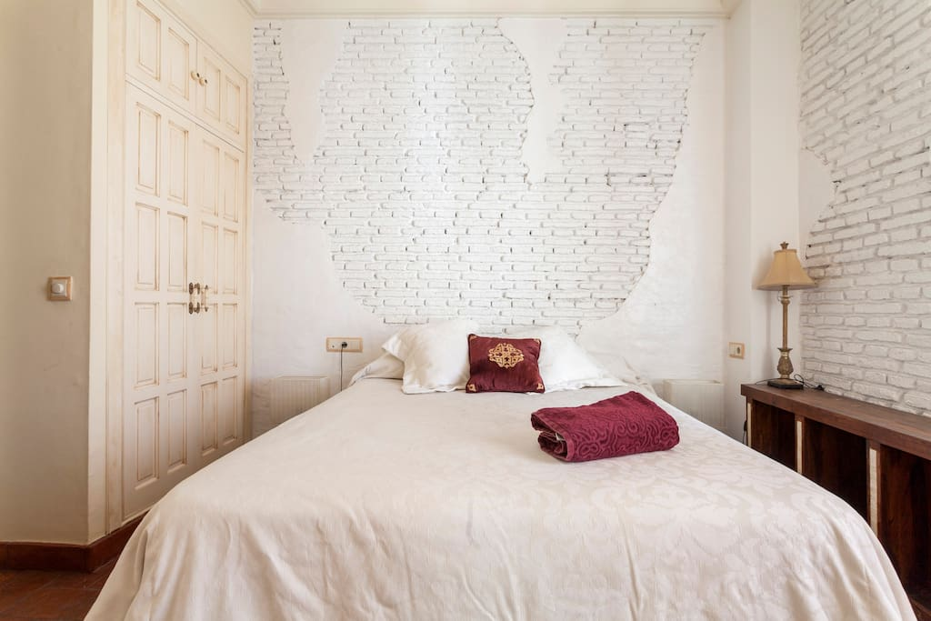 Main bedroom with double bed and private ensuite