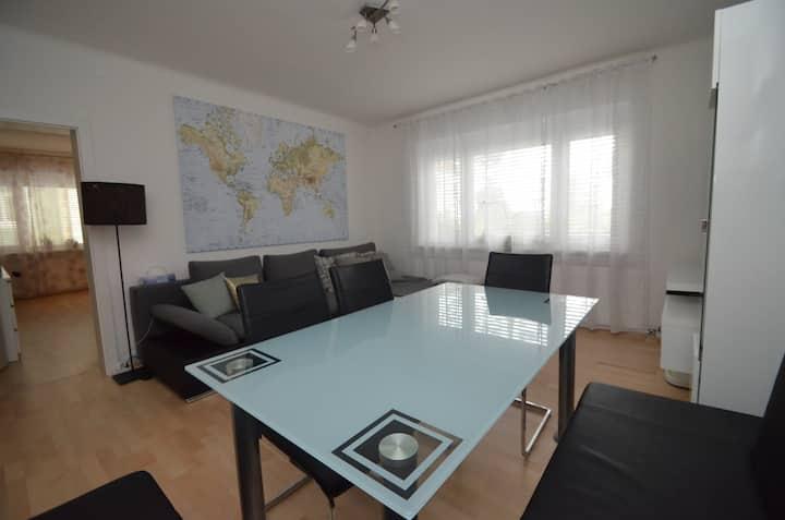 72m2 3,5Zi-City-Apartment  -für berufliche Zwecke!
