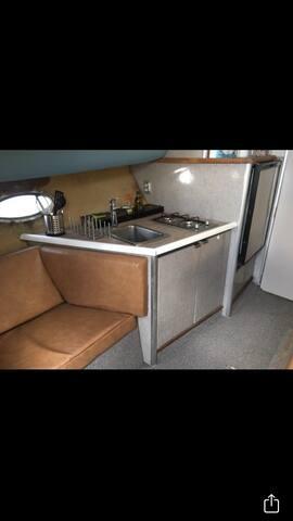 Valencia on boat