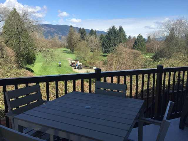 Cozy 2 bedroom town home with a beautiful view - Port Coquitlam - Stadswoning